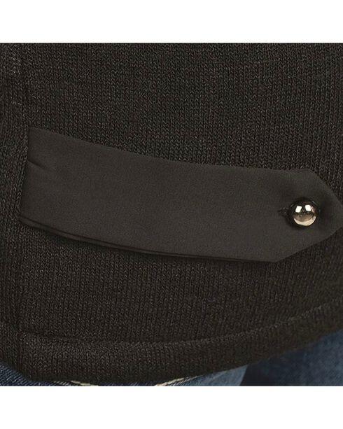 Petrol Asymmetrical Zipper Jacket, Black, hi-res