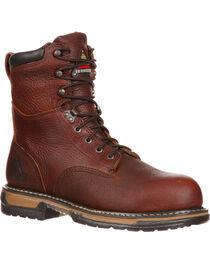 """Rocky Men's IronClad 8"""" Work Boot, , hi-res"""