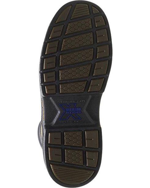 Wolverine Men's Raider MultiShox® Steel Toe Work Boots, Brown, hi-res
