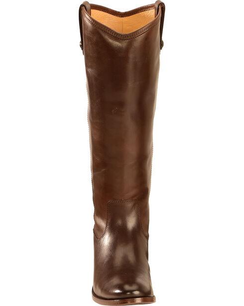 Frye Women's Melissa Button Boots, Dark Brown, hi-res