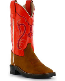 Cody James® Children's Broad Square Toe Western Boots, , hi-res