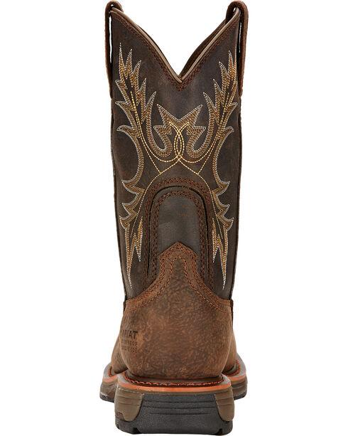 Ariat Men's Work Hog Composite Toe WP Work Boots, Brown, hi-res