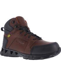 "Reebok Men's Athletic 6"" Hiker Boots with Met Guard - Carbon Toe, , hi-res"