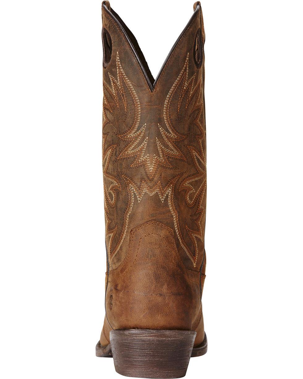 Ariat Men's Circuit Striker Western Boots, Dark Brown, hi-res
