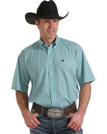 Cinch Men's Geo Patterned Short Sleeve Shirt, , hi-res
