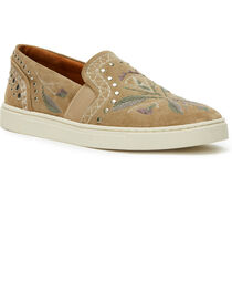 Frye Women's Ash Ivy Embroidered Slip-On Shoes , , hi-res