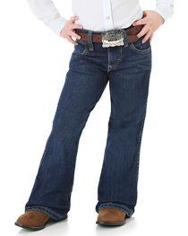 Wrangler Girl's Premium Patch Jeans, , hi-res