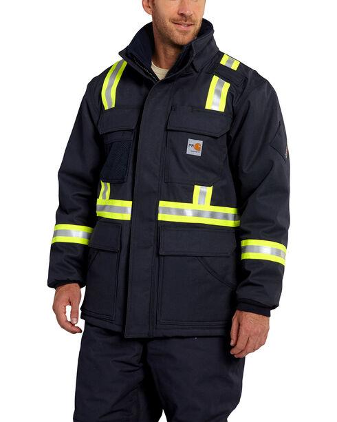 Carhartt Extremes® FR Arctic Coat - Big & Tall, Navy, hi-res