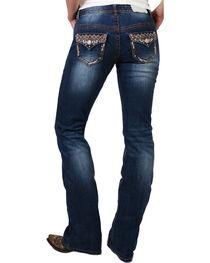 Shyanne® Women's Bronze Stitched Boot Cut Jeans, , hi-res