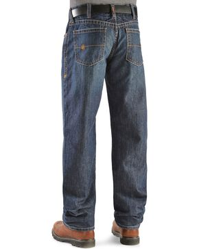 Ariat Men's Shale Fire Resistant Work Jeans, Denim, hi-res