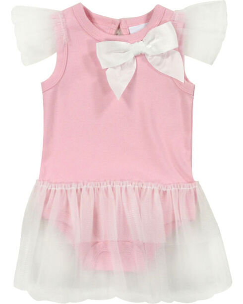 Shyanne® Infant Girls' Bow and Tutu Onesie, Pink, hi-res