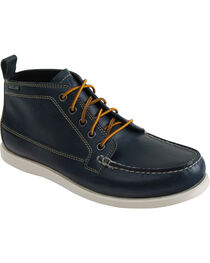 Eastland Men's Navy Seneca Camp Moc Chukka Boots, , hi-res