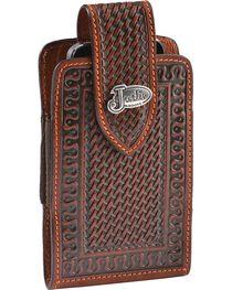 Justin Leather Belt Clip Cell Phone Holder, , hi-res