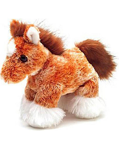 Aurora Kid's Clyde the Clydesdale Stuffed Horse, Camel, hi-res