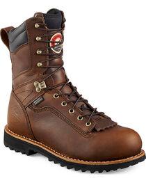 Red Wing Irish Setter Mesabi Logger Work Boots - Aluminum Toe , , hi-res