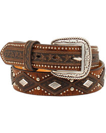 Ariat Diamond Concho Belt, , hi-res