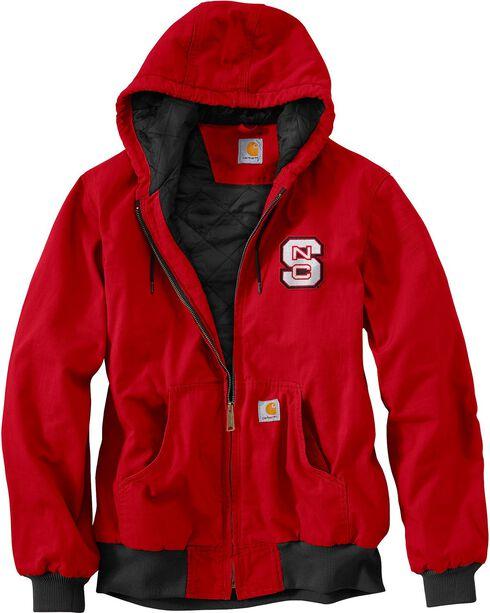 Carhartt North Carolina State Wolfpack Sandstone Active Jacket, Red, hi-res