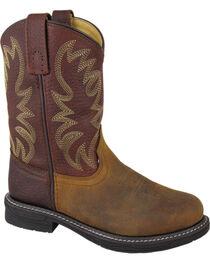 Smoky Mountain Youth Boys' Buffalo Wellington Western Boots - Round Toe, , hi-res