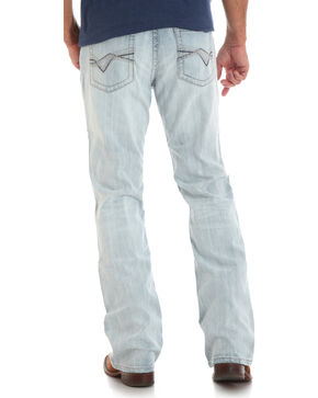 Wrangler Rock 47 Men's Turntable Slim Fit Jeans - Boot Cut, Light Blue, hi-res