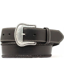 Nocona Men's Leather Lace Western Belt, , hi-res