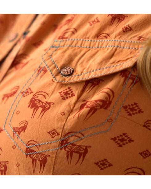 Ryan Michael Women's Southwest Ibex Shirt, Multi, hi-res