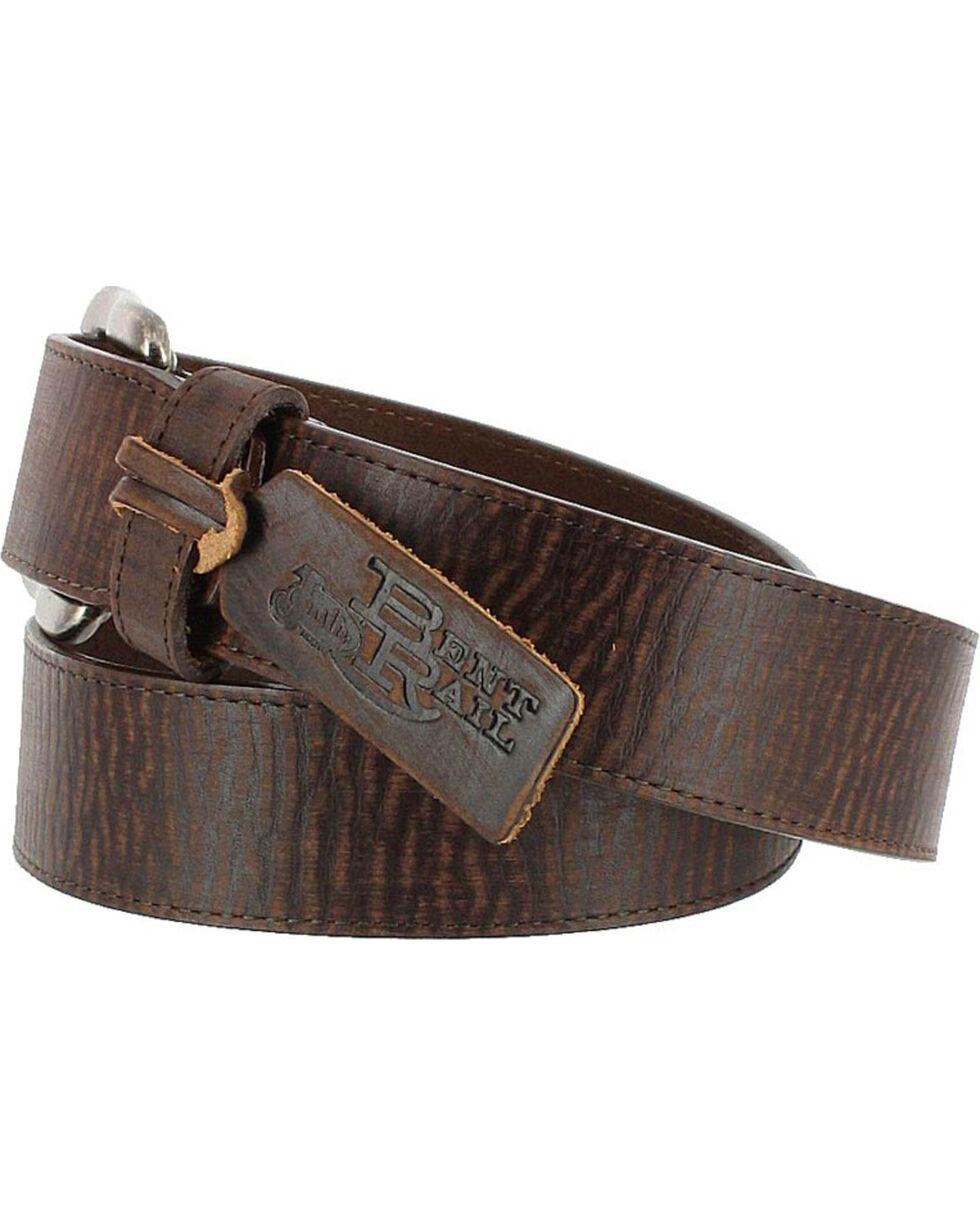Justin Men's Brown Bomber Belt , Brown, hi-res