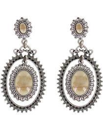 Shyanne® Women's Floral Concho Earrings, , hi-res