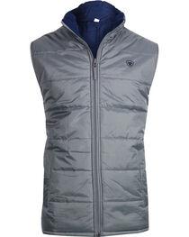 Ariat Men's Reversible Meridian Vest, , hi-res