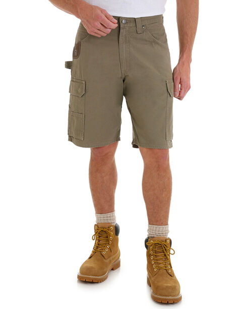 Wrangler Men's Bark Riggs Workwear Ripstop Ranger Shorts , No Color, hi-res