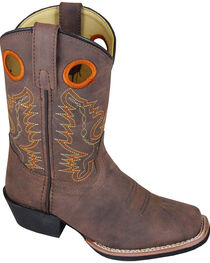 Smoky Mountain Boys' Memphis Western Boots - Square Toe, , hi-res
