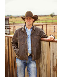 STS Ranchwear Men's Preacher Jacket - 2XL-3XL, Brown, hi-res