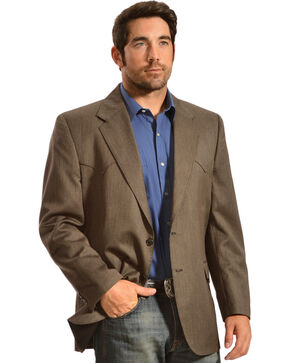 Circle S Men's Kerrville Sport Coat, Brown, hi-res