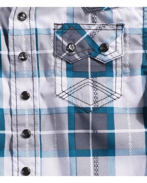 Cody James Toddler Boys' Great Lakes Long Sleeve Shirt, Navy, hi-res