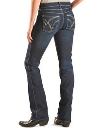 Wrangler Women's Q-Baby Booty Up Riding Jeans, , hi-res