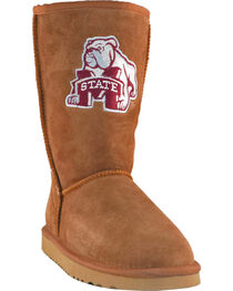 Gameday Boots Women's Mississippi State University Lambskin Boots, , hi-res