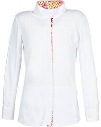 Dublin Girls' Comfort Dry Short Sleeve Show Shirt, Multi, hi-res