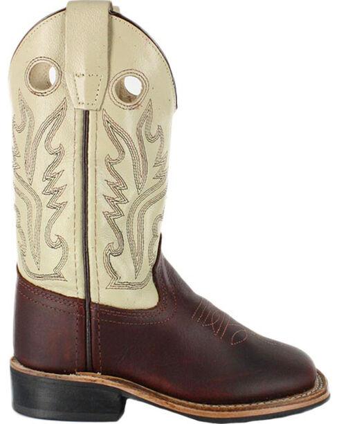 Jama Children's Western Boots, Brown, hi-res