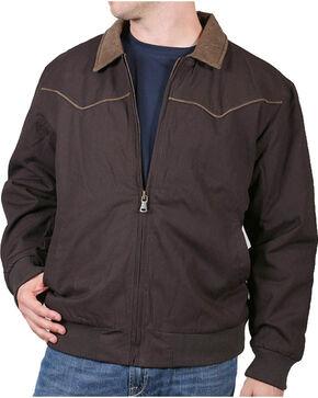 Cody James® Men's Lone Star Jacket, Brown, hi-res