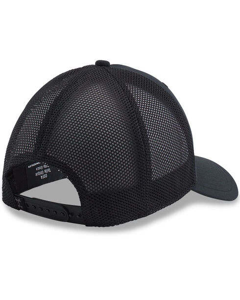 Under Armour Men's Outdoor Performance Trucker Cap, Black, hi-res