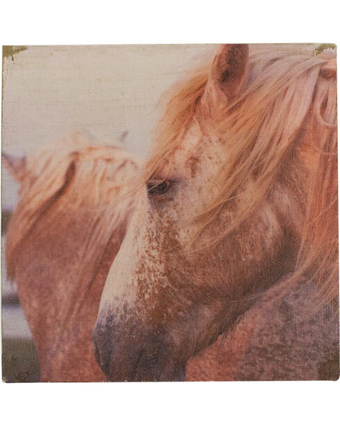 BB Ranch Rustic Horse Canvas wall Art, No Color, hi-res
