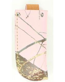 Nocona Pink Mossy Oak Large Knife Sheath, , hi-res