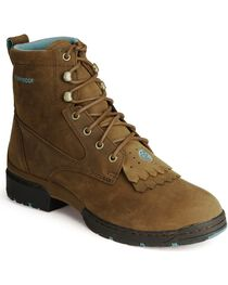 """Justin Women's George Strait Collection 6"""" Work Boots, , hi-res"""