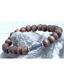 InspireDesigns Women's Brown Inspirational Wood Bracelet , , hi-res
