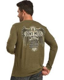 Buck Wear Men's Don't Mess Long Sleeve T-Shirt, , hi-res