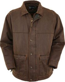 Outback Trading Co. Men's Brown Galen Canyonland Jacket , , hi-res