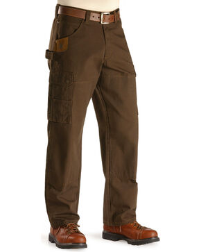 Riggs Workwear Men's Ranger Pants, Dark Brown, hi-res