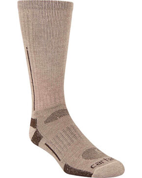 Carhartt Tan Full Cushion All Terrain Boot Socks, Tan, hi-res