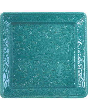 HiEnd Accents Savannah Serving Platter, Turquoise, hi-res