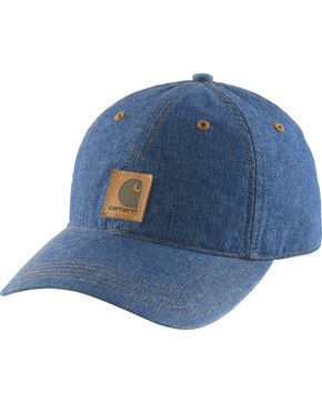 Carhartt Women's Denim Ball Cap, Indigo, hi-res
