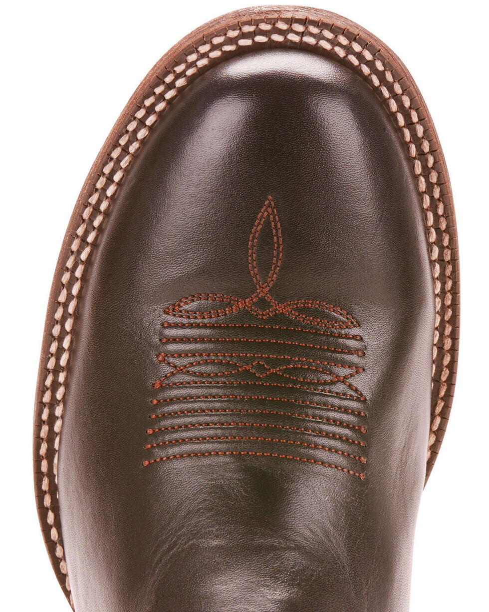 Ariat Men's Circuit Competitor Limousine Black Performance Cowboy Boots - Round Toe, Black, hi-res
